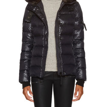 Firth Women's Mercer Puffer Coat - Black -