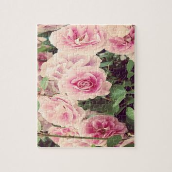 September rose jigsaw puzzle