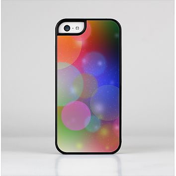 The Unfocused Color Rainbow Bubbles Skin-Sert Case for the Apple iPhone 5c