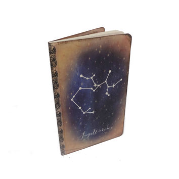 Sagittarius Journal, Zodiac Constellation Journal, Horoscope Diary, Astronomy, Astrology, Cosmos, Universe, Stars, Sagittarius Notebook