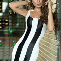 Black and White Tank Dress from NuYouBoutique2013