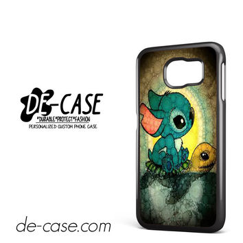 Sticth And The Turtle For Samsung Galaxy S6 Samsung Galaxy S6 Edge Samsung Galaxy S6 Edge Plus Case Phone Case Gift Present YO