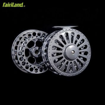 Fly fishing reel 7/8 100mm with spare spool precision machined premier combo from bar-stock aluminum money-saving set