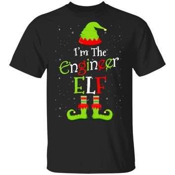 I'm The Engineer Elf Family Matching Funny Christmas Group Gift