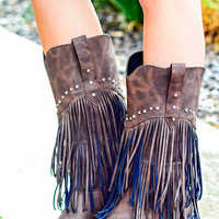 ROPER: MADE FOR WALKIN TALL FRINGE BOOTS