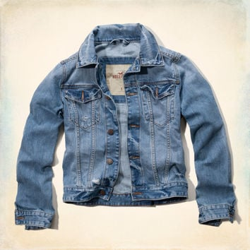 White Point Denim Jacket