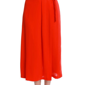 About Time Wide-Leg Culottes