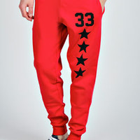 Star & Number Joggers