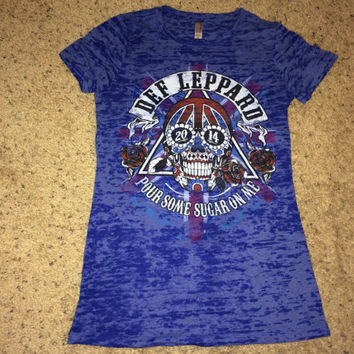Sale!! DEF LEPPARD women's band tee shirt