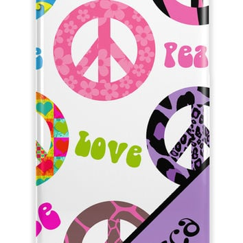 Retro peace signs - Personalized gift for daughters - Iphone case