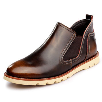 New 2017 England Style Dr. Genuine Leather Martin shoes Marten Shoes Men & Women Marten Dr Designer Motorcycle Size