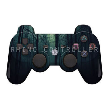 Rapid Fire Custom Sony Playstation 3 Wireless Controller Modded PS 3  Controllers- Mistery