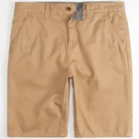 Charles And A Half Lincoln Mens Shorts Dark Khaki  In Sizes