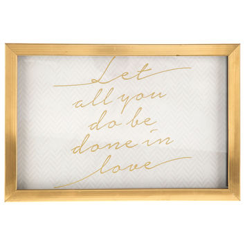Let All You Do Framed Wall Art | Hobby Lobby | 1124536