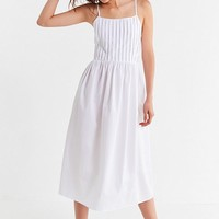 UO Pintuck Midi Dress | Urban Outfitters