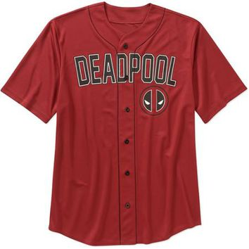 Deadpool Men's Baseball Jersey - Walmart.com