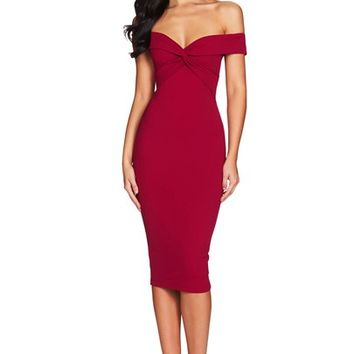 DOLLY MIDI : Buy Designer Dresses Online at Nookie