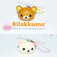 Rilakkuma Mini Squishy Head Charm