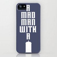 Tardis, Doctor Who - A Mad Man With a Box iPhone & iPod Case by Arma