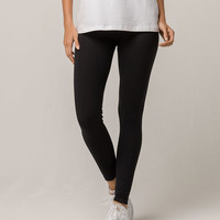 ADIDAS Trefoil Black Womens Leggings