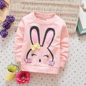 Baby Girls' Bunny Sweater