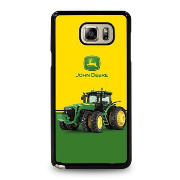 JOHN DEERE WITH TRACTOR Samsung Galaxy Note 5 Case Cover