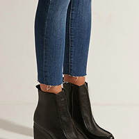 Eeight Anna Genuine Leather Platform Boots