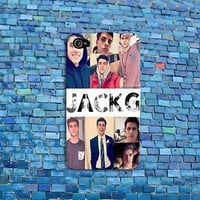 Cute Jack Gilinsky Phone Case Cover iPhone New iPod Cool Girly Girl Boy Collage