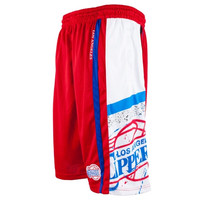 Los Angeles Clippers Big & Tall Davis Shorts - Red