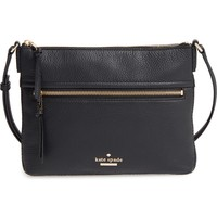 kate spade new york jackson street - gabriele leather crossbody bag | Nordstrom