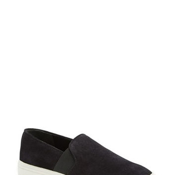 'Berlin 6' Slip-On Suede Sneaker (Women)