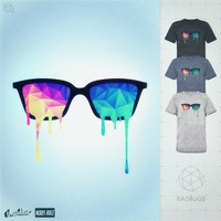 Psychedelic Nerd Glasses on Threadless