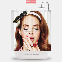 Lana Del Rey Idol Custom Shower Curtain Home & Living Bathroom 165