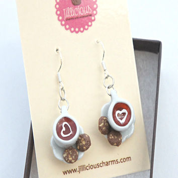 Tea Time Dangle Earrings