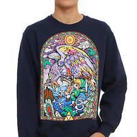The Legend Of Zelda Helmaroc King Stained Glass Sweatshirt