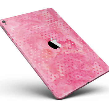 "Tiny Pink Watercolor Hearts Full Body Skin for the iPad Pro (12.9"" or 9.7"" available)"