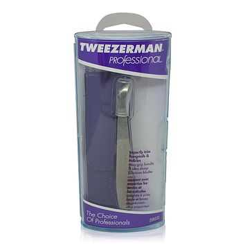 Tweezerman V-Cuticle Nipper  Professional  Nail Care Kit