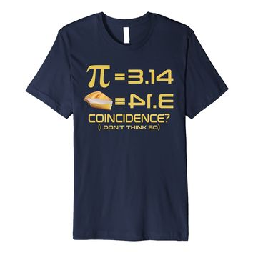 Pi Day T Shirt 2018 Funny Pie Lover for Math Geeks Science