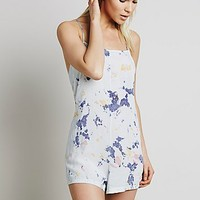 Intimately Womens Washed Up Romper