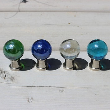 Glass Drawer Knobs Clear (GK02) MORE COLORS Available