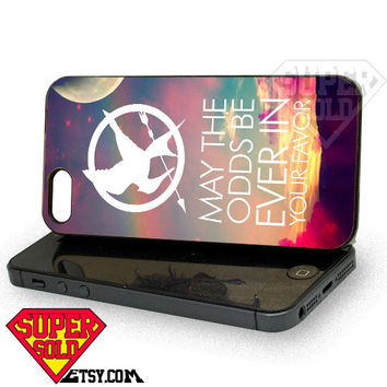 Hunger Games Quote - iPhone 4/4s/5/5s/5c Case - Samsung Galaxy S2/S3/S4 Case - Black or White