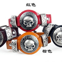 Fashion Punk  Rivets Adjustable Leather Wristband Cuff Bracelet - Great for Men, Women, Teens, Boys, Girls 2705s