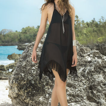 Seaview Beach Dress & Cover Up