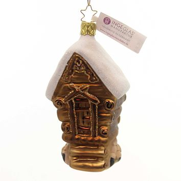 Inge Glas Witch Haus Glass Ornament