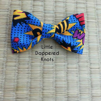 Superhero bowtie for boys, boys Bowties, boys Bowties, boy ties, superhero Kids Bowties, Boys Bowties, Bowties for Boys, Bows, Headbands