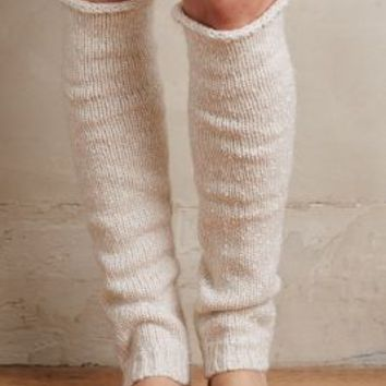 Lemon Speckled Legwarmers