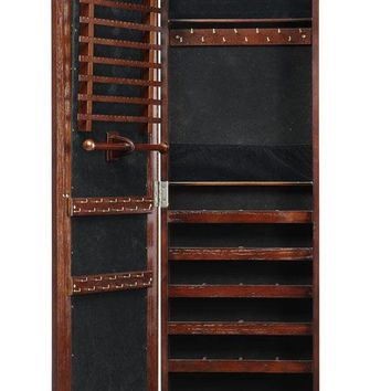 Artisan Wall Mount Jewelry Armoire with Mirror - Jewelry Organization - Storage And Organization - Storage And Display | HomeDecorators.com