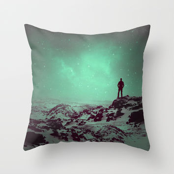 Lost the Moon While Counting Stars II Throw Pillow by Soaring Anchor Designs