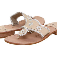Jack Rogers Palm Beach Navajo Flat Bone/White - Zappos.com Free Shipping BOTH Ways