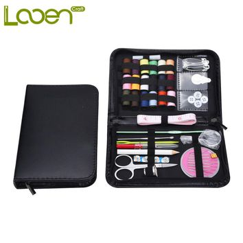 Hot Selling Sewing Tool Set  Crochet Hooks Needles Stitches Knitting Craft Case Travel Sewing Kit  40 Pcs Accessory